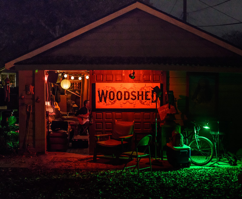 The Woodshed in 2012