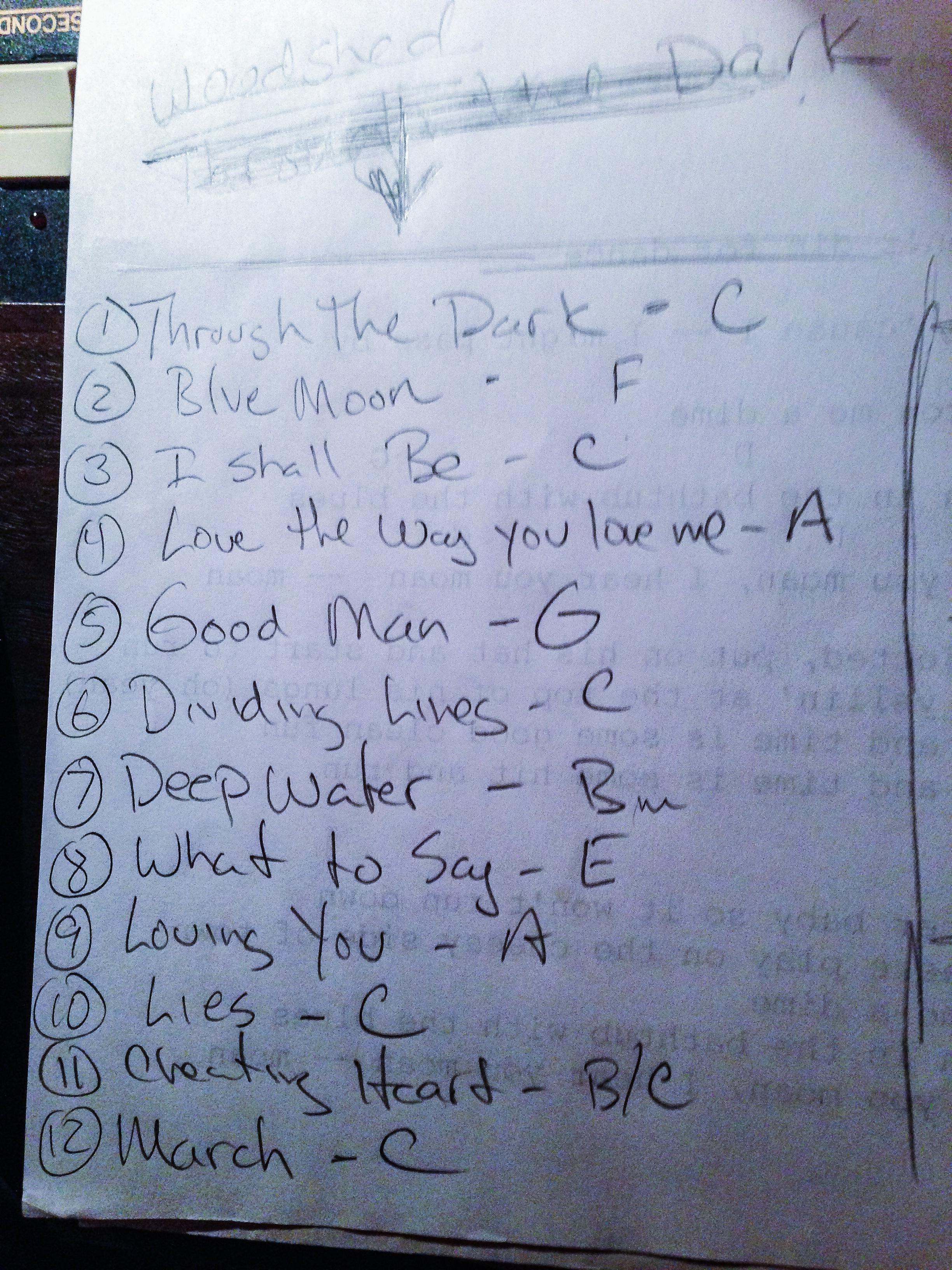 jar2013-10-03-setlist